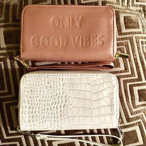 Handbags - Pair of Wristlets